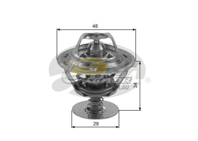 Gates Thermostat For Toyota Spacia 93-95 2.2 (YR22LG) Bus Petrol TH39082G1